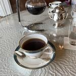 137876472 - ホットコーヒーです。ソーサーはナルミ製陶製でした。