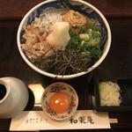 和楽庵 - 納豆蕎麦