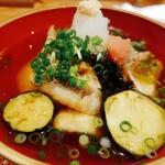 和食ながい - 手造り豆腐と甘鯛の揚げ出し
