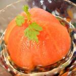 焼鳥 ボトルバード - 桃のようなトマト♪