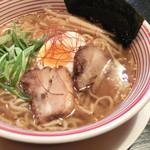 お多津 - 鶏塩ラーメン(カレー風味)