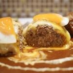 キッチン ハセガワ - デラックスハンバーグセット