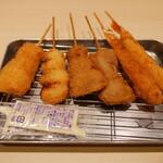 串カツ田中 - 串揚げ