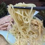 ラーメンショップ 金田亭 - 麺リフト。