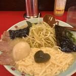壱発ラーメン - ネギとろラーメン醤油味玉入 1,000円