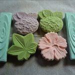 ゆらり - 干菓子のアップ
