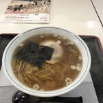 ビーフビレッヂ区界 - 醤油ラーメン650円