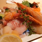 寿司あおい - 自慢の魚盛1人前(590円) これはマストで頼んだほうがよろしいかと、、、!