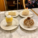 137905767 - モンブラン・衣栗ぜいたくロール・生ちいず・ショートケーキ