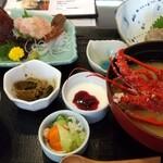 たなか寿司 - 伊勢海老プリプリ定食