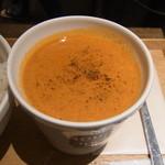 スープストックトーキョー - オマール海老のビスク+白胡麻ご飯