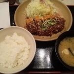 13791485 - 味噌カツ定食
