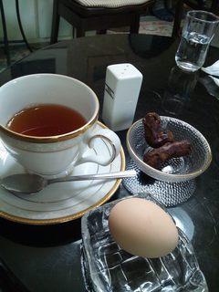 チャイハナ  - アールグレーとかりんとうとゆで卵