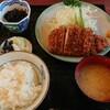 萬来 - 料理写真:上ロースカツ定食 1,700円