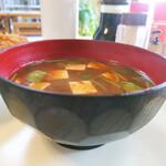 三春屋 - 味噌汁