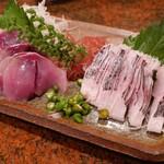 魚味幸 - 料理写真:尾赤、さびせごし