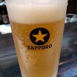 焼鳥 吉田屋 - ビール