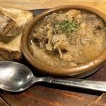 サカバルチドリ - 牛すじ塩煮込み