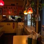 カフェバリチャンプル - カフェというよりむしろ喫茶店っぽい雰囲気?