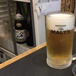137918552 - 生ビールはモルツ