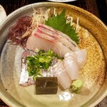 和洋心菜 柾風 - 柾風定食のお刺身