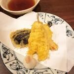 和洋心菜 柾風 - 柾風定食の天ぷら