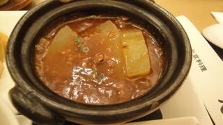 天厨菜館 銀座店 - 冬瓜の肉味噌煮