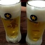 Big-Pig - 生ビール 490円 乾杯(^^♪