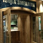 イゾラ スメラルダ - 店舗入口