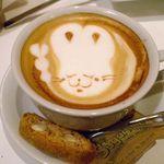 HAMA CAFE - カプチーノ 600円