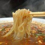 辛麺屋 桝元 昭和町店 - こんにゃく麺がヘルシーで、ついつい完食・・・