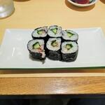 にぎり鮨 魚魚 - 梅紫蘇