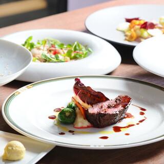 四季折々の食材を生かしたイタリア郷土料理