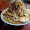 ラーメン富士丸 - 料理写真:ラーメン麺少な目 野菜増し ニンニク