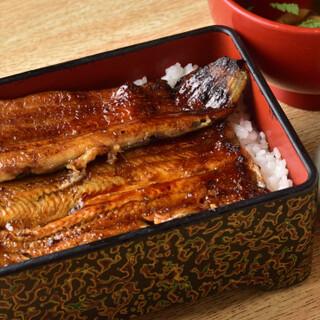 愛知県三河一色産の良質なうなぎを使用
