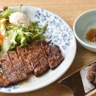 神奈川県南足柄産・相州牛のステーキ