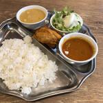 スルエシー - 料理写真:スルエシーセット & チキン(税込1,210円)