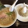 麺僧 - 料理写真:正油ミニラーメン+ミニチャーハン(700円)
