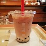 ドトールコーヒーショップ - タピオカミルクティー¥