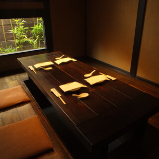 完全個室(座敷、掘りごたつ)