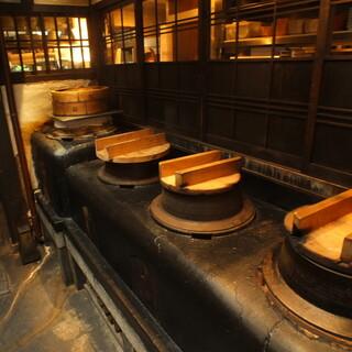 築100年の京町家をほぼ当時の姿のまま使用