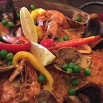 トラットリア シャント - 魚介のパエリャ