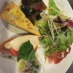 トラットリア シャント - ランチ前菜