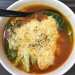 崇心 - 『炙りチーズ とまと麺   ¥886なり』