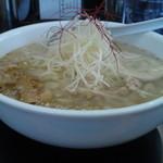 博多 昇龍 - 白髪葱がこんもり、食感にイイ感じで貢献する♪