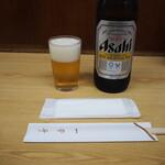 一芳亭 - ビール