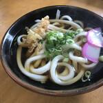 岡製麺所 - 料理写真:かけ小 250円
