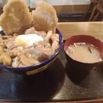 キッチン男の晩ごはん 女の昼ごはん - スタミナ丼(極み)880円(大盛)