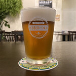 羽田バル - ・のりビール ハーフ 600円/税抜