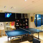 阿波踊り&ミュージック Cafe&Barコティ - 卓球台あります。